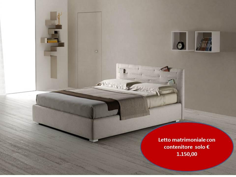 Emejing letto con contenitore prezzi pictures - Letto con cassettone prezzi ...