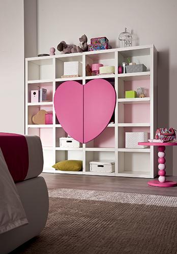 Letto a forma di cuore decora la tua vita - Letto matrimoniale a forma di cuore ...
