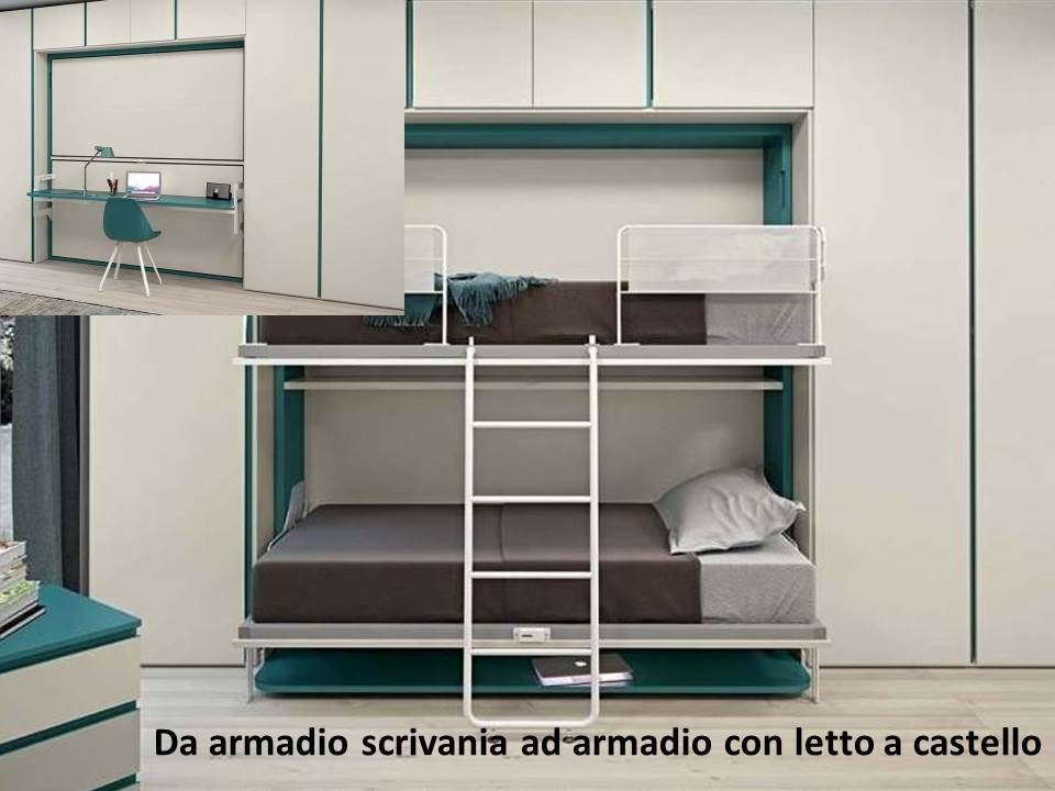 Mobile porta tv archives letto e materasso for Letto castello matrimoniale