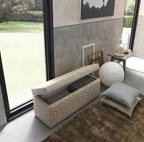 pouf camera da letto