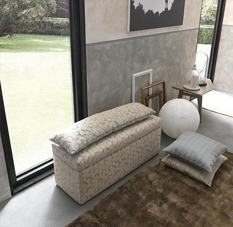 pouf pandora camera da letto