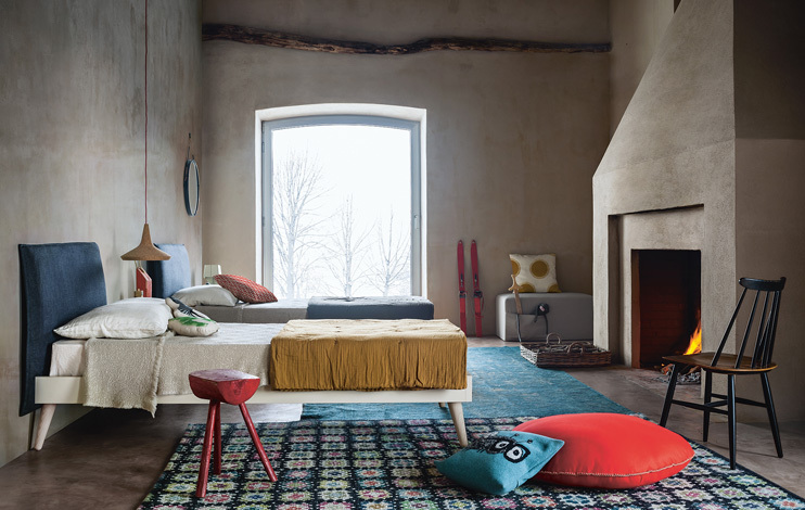 letto legno testata imbottita  una piazza e mezza