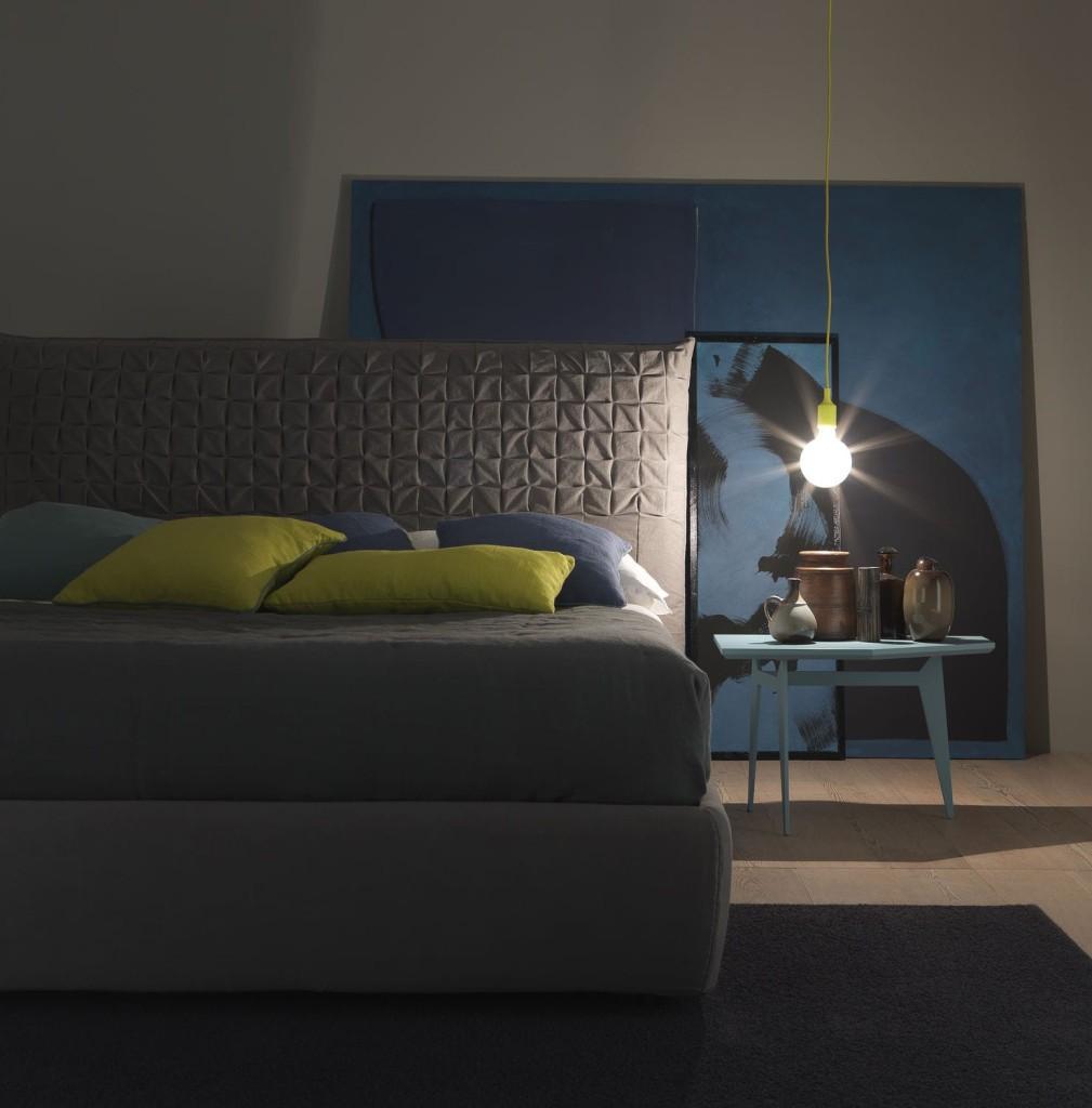 letto Sheen by bolzan letti, con box e colori a scelta