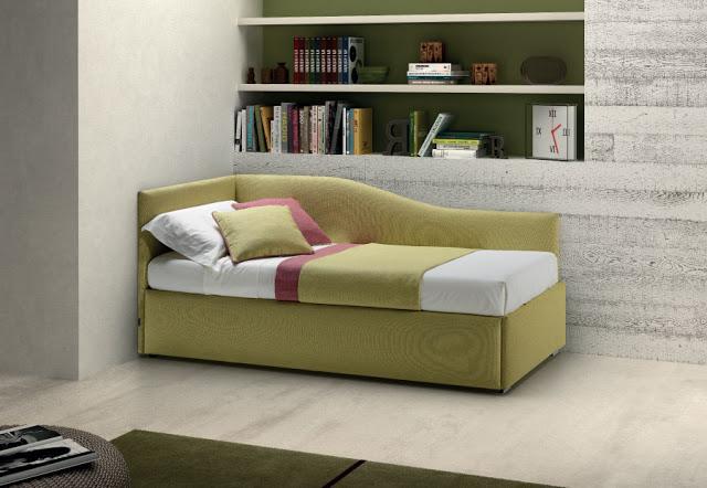 Divani a letto archives letto e materasso - Divano letto singolo estraibile ...