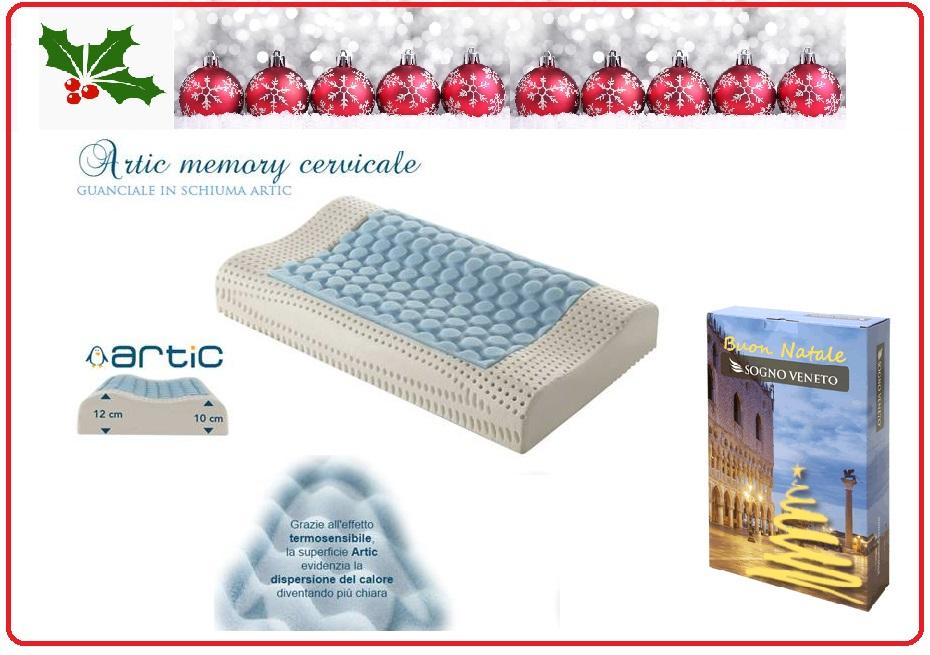 cuscino Artic memory cervicale